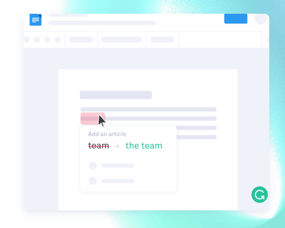 Screenshot of Grammarly email automation
