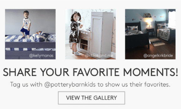 Email trends 2020 pottery barn