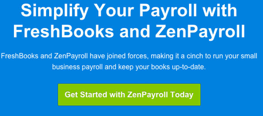 zenpayroll email call to action