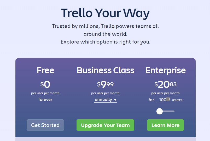 Trello list building demo