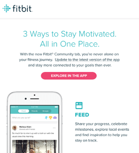 fitbit email